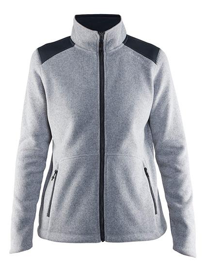 2714f1b9 Craft Noble Zip Heavy Knit Fleece Jakke, dame